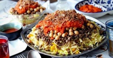 koshari kushari receta