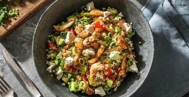 tabule de quinoa y pollo