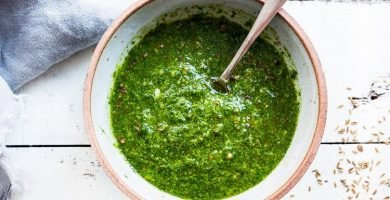 Chermoula salsa marroqui