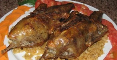 receta egipcia de paloma