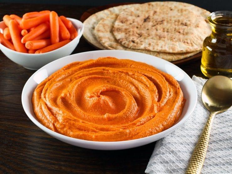 humus de pimiento asado del piquillo