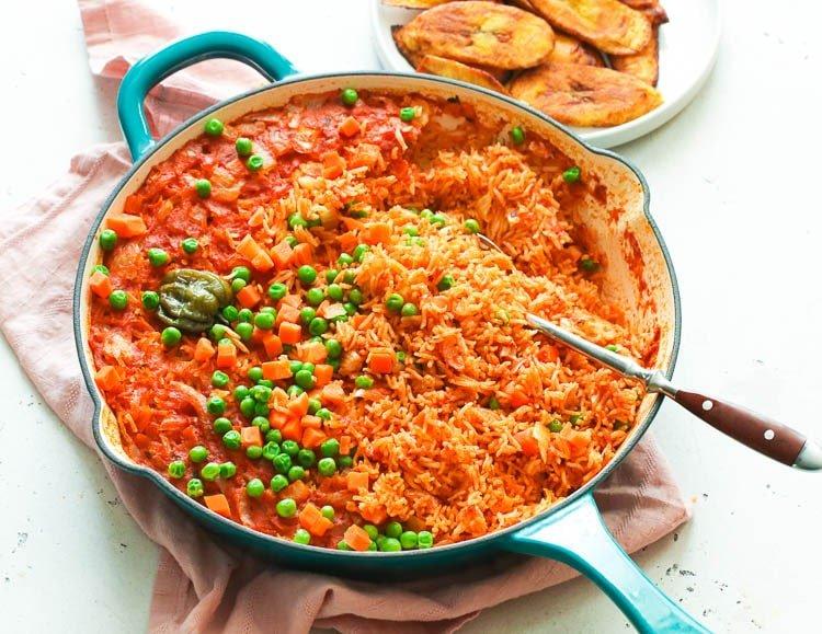 arroz jollof nigeria